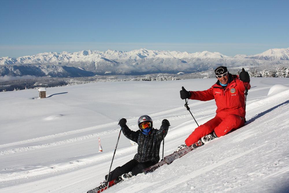 Corno del Renon - Sciare in famiglia - © Corno del Renon