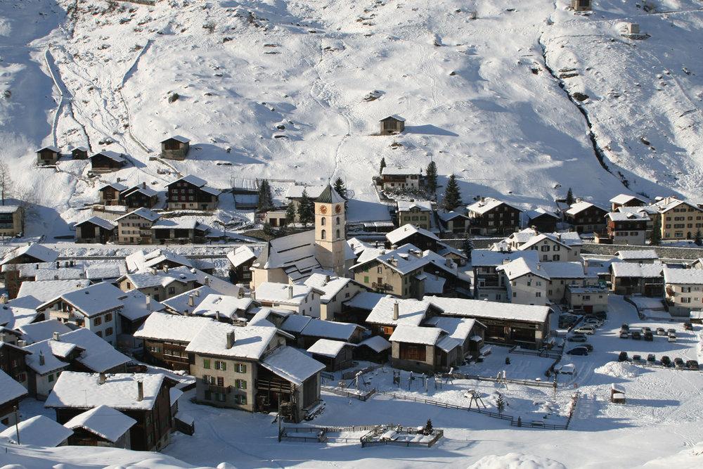 Skitour Fanellhorn (SUI) - © Vals