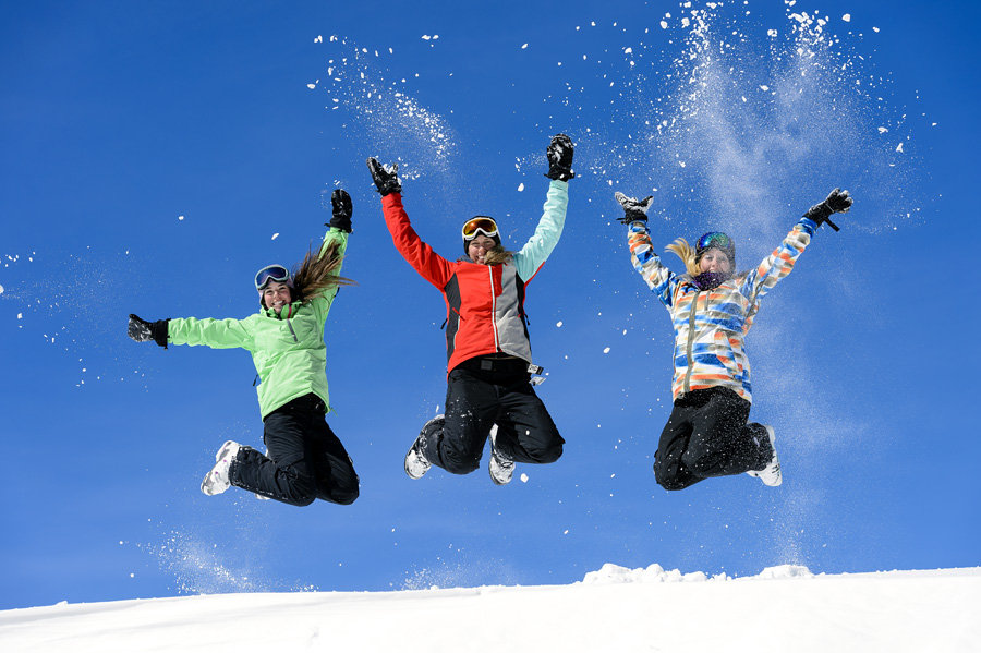 The Intrawest Passport will have you, and your family, jumping for joy. - © Snowshoe Resort