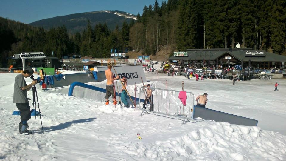 Snowpark Špindlerův Mlýn - ©Snowpark Špindlerův Mlýn