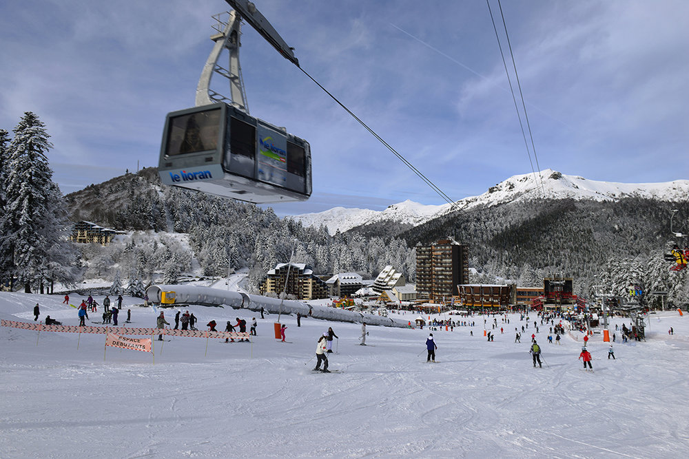 Départ des pistes de ski du Lioran - © PountiProd / T. Marsilhac