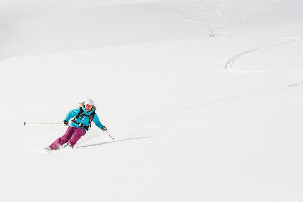 Ekstremt god snø! - © Myrkdalen