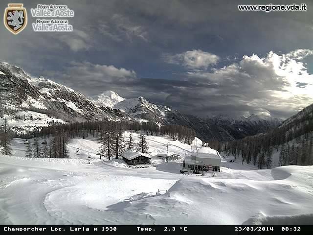 Champorcher - Ancora neve fresca! 24 Marzo 2014
