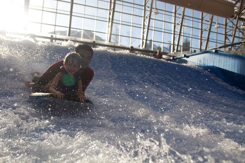 Hunt waves instead of eggs this Easter at Jay Peak. - © Jay Peak Resort