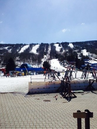 Awesome bluebird day at camelback