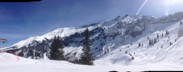 Glorious day on the piste! :-)