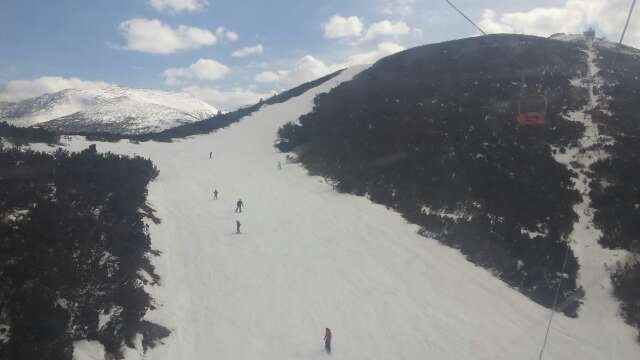 from 20th to 25th good snow up top. great 4 days skiing got slushy in afternoon though