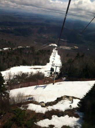 April 19 riding, was great. $52 is too pricey for wet snow, And a long walk back to gondola- from upper cloud. Good ski day. Till 1 pm. Gore is a nice mountain. But Gore has to promote. Early and late season prices.  More money and more people will come