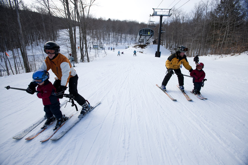 Options for every level are available from the top of each chair at Okemo. - © Okemo Mountain Resort