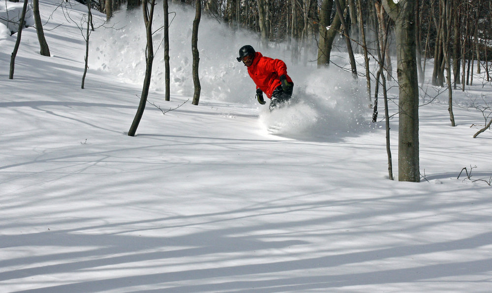 Stowe pow. - ©Stowe Mountain Resort