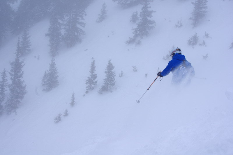 Trekking for powder. - © Arapahoe Basin