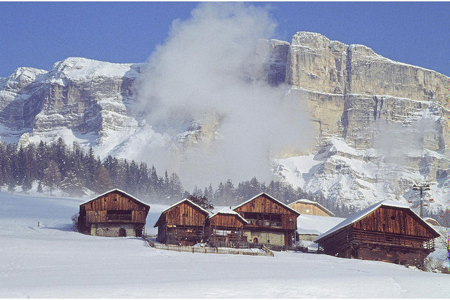 Beautiful landscapes of Alta Badia, Dolomites. - © Casaprimula