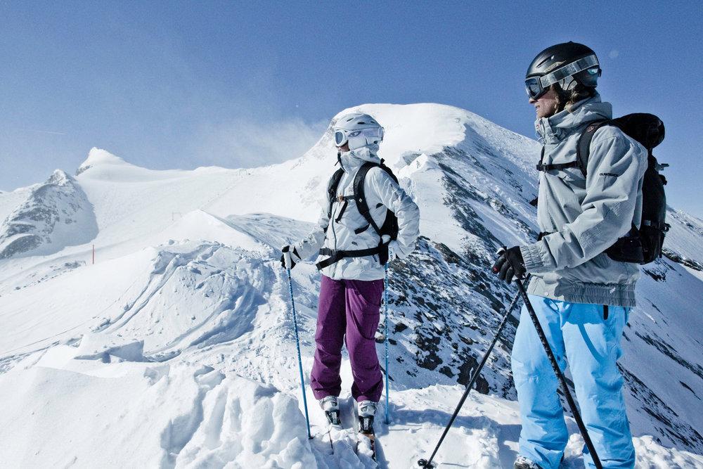 Kitzsteinhorn ponúka aj početné freeridové lyžiarske terény - © Gletscherbahnen Kaprun AG