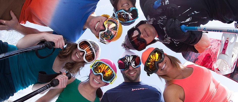 Grab the gang and hit Mountain Creek this spring. - © Mountain Creek