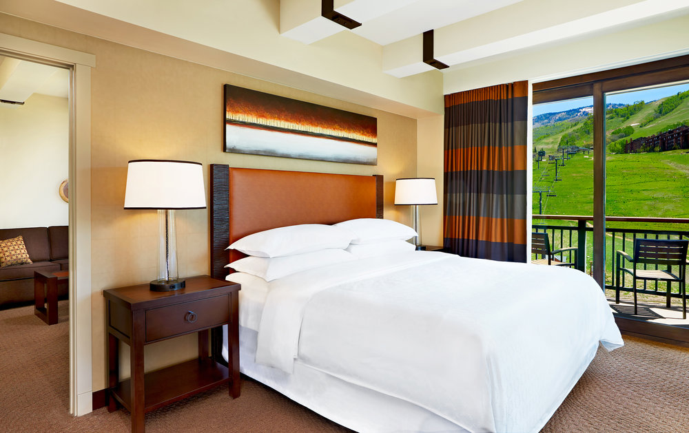 The Mountain Suites overhaul project boosted the hotel's suite count by almost 30 times, from a couple units to now more than 50.  - © Sheraton
