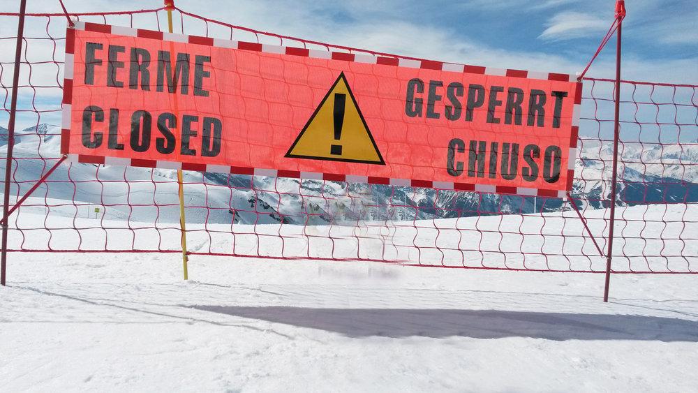 La fin de saison de ski approche et les stations de ski ferment une à une... mais après la fermeture, que s'y passe t-il ?