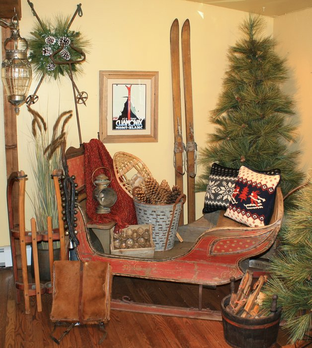 Ski Country Antiques & Home sources a majority of the antiques from Western Europe. - © Ski Country Antiques & Home