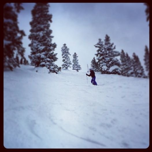 Eldora has some great terrain.  - © Heather B. Fried