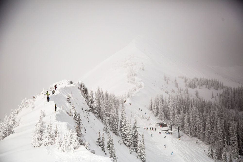 The storm that made national news with flooding in Los Angeles made it's way west this weekend dropping massive amounts of snow on Wolf Creek Ski Area in Colorado.  - © Jason Lombard courtesy of Wolf Creek Ski Area