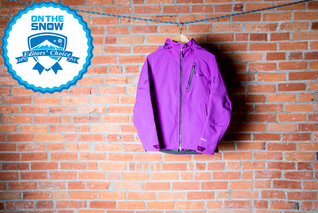 2015 women's Editors' Choice jackets: Outdoor Research Women's Trickshot Jacket - © Liam Doran