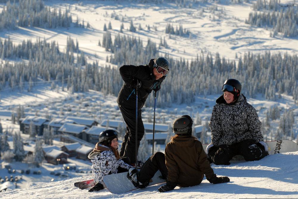 Skeirs at Skeikampen, Norway - ©Skeikampen