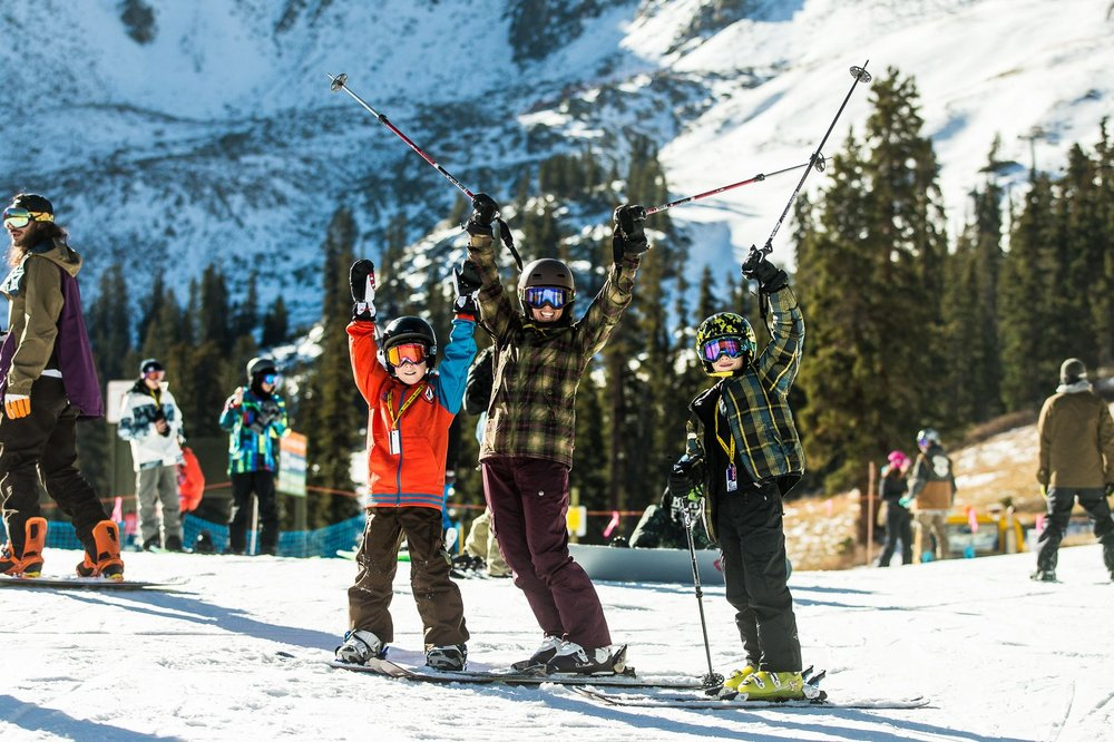 Hooray for opening day! - ©Dave Camara/Arapahoe Basin Ski Area