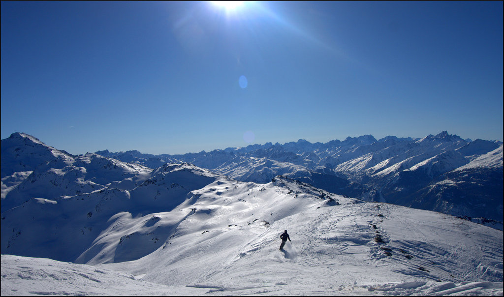 Orelle is one of the lesser-known resorts in the Three Valleys ski area, France - © StripeyAnne
