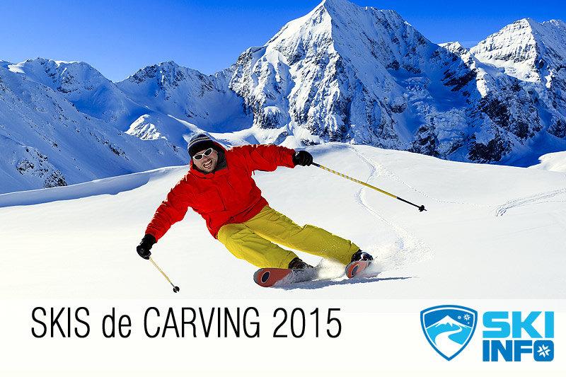 Pour tailler des courbes, relancer, varier les rayons de courbes... les meilleurs skis de carving 2015... - © Gorilla - Fotolia.com
