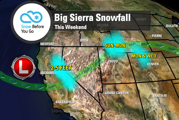 Snow Before You Go: Biggest California Storm of the 14/15 Season So Far
