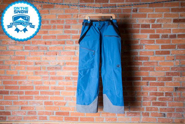 2015 men's ski pants Editors' Choice: Mammut Trift GTX 3L Pant - © Liam Doran