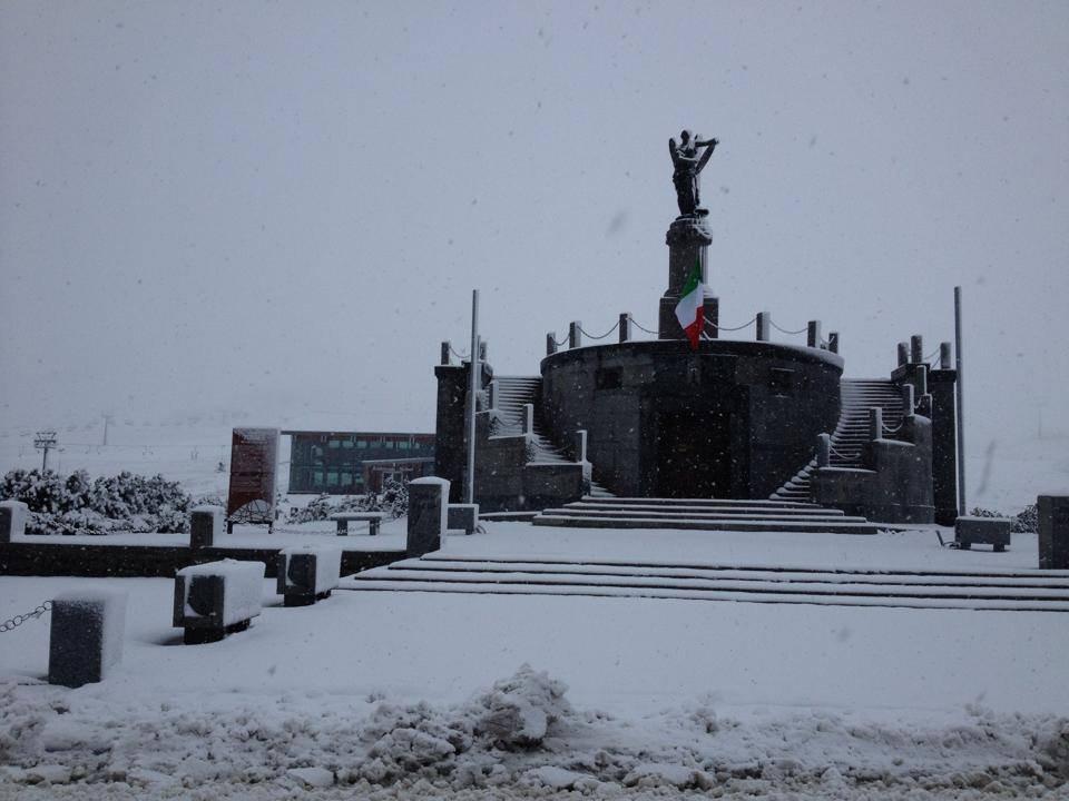 Passo Tonale, Neve fresca 5 Novembre 2014