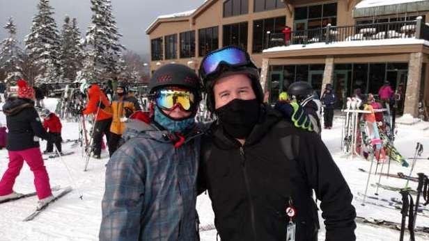 Awesome early season skiing at BW today....great powder... looking forward to a great season