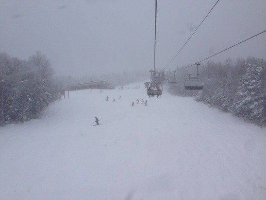 Great day. Early season powder everywhere! Pretty great day for November.