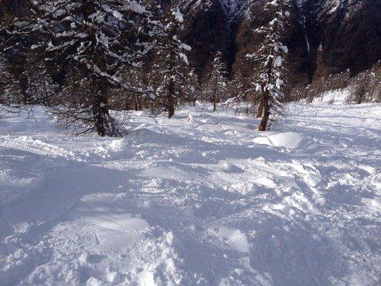 Neve stupenda di lunedì pomeriggio....