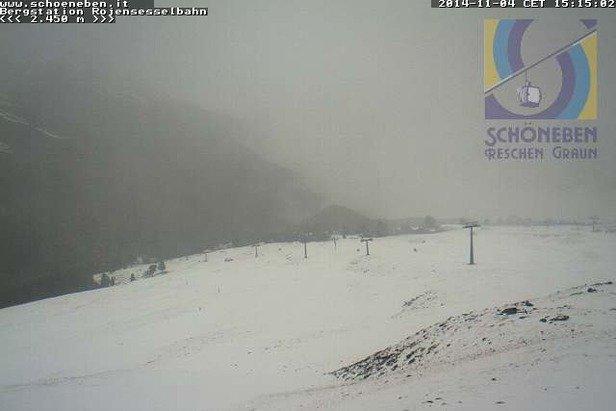 Belpiano, Neve fresca 4 Novembre 2014