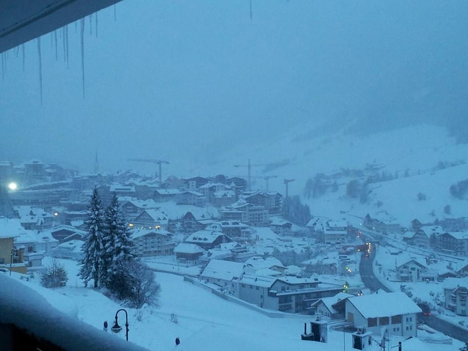 Ischgl already has a good covering of snow. Picture taken Oct. 23, 2014 - © Ischgl
