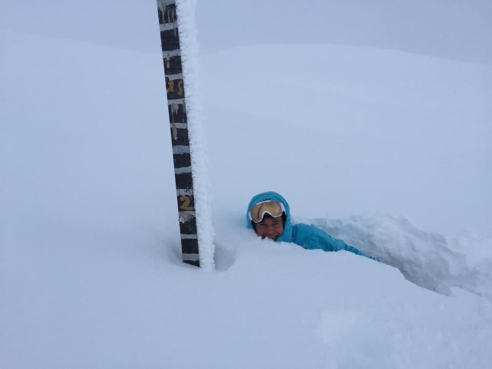 Myrkdalen - viac ako meter čerstvého snehu v Nórsku - © Myrkdalen