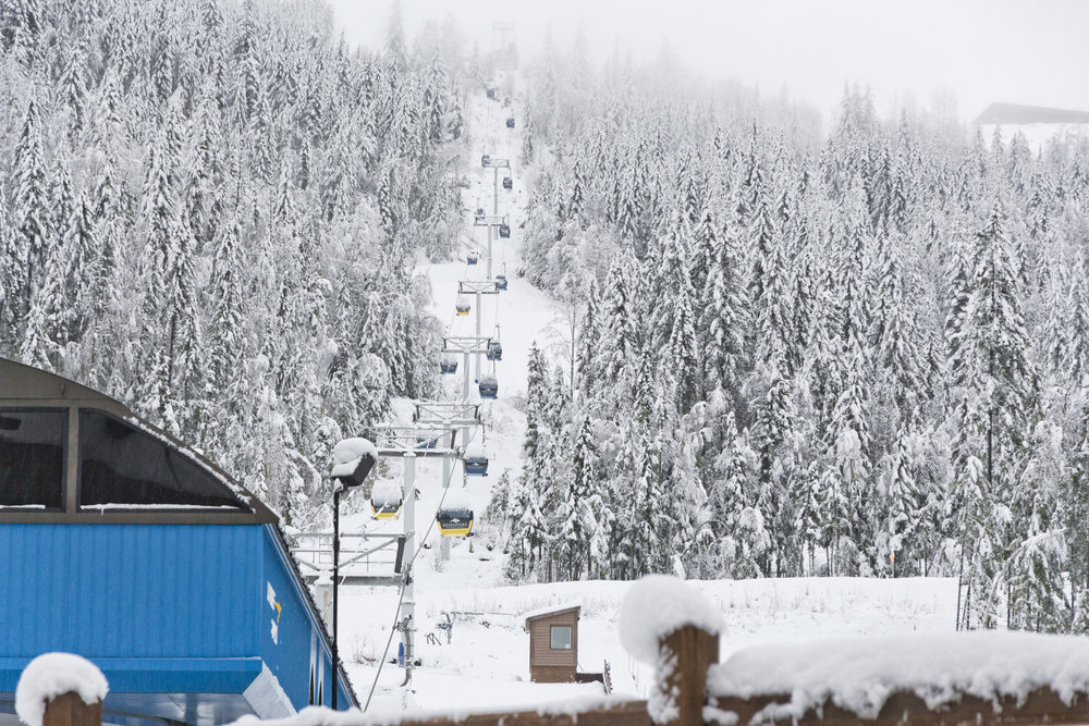 Revelstoke kicked off ski season with enough powder to go around. - © Revelstoke Mountain Resort