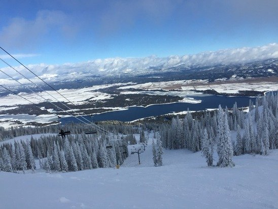 Summit has nice powder and views!