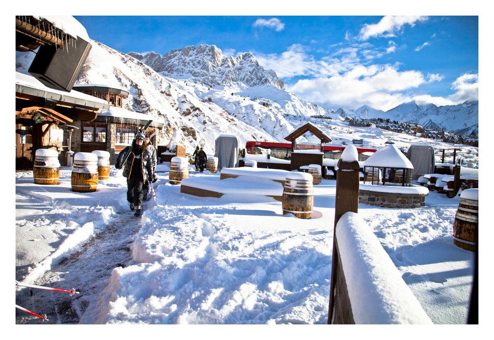 Ambiance hivernale dans la station de ski de Formigal - © Aramon
