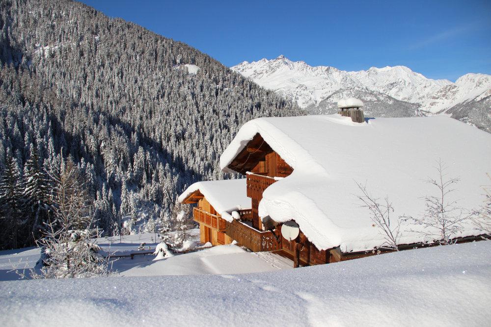 Valfréjus et son architecture armonieusement intégrée à la nature - © OZ/OT Valfréjus