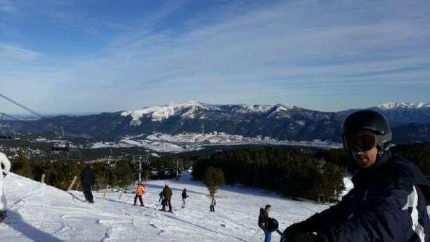 Un super temps, de la bonne neige et tout le domaine ouvert, un régal.  seul bémol : beaucoup de monde