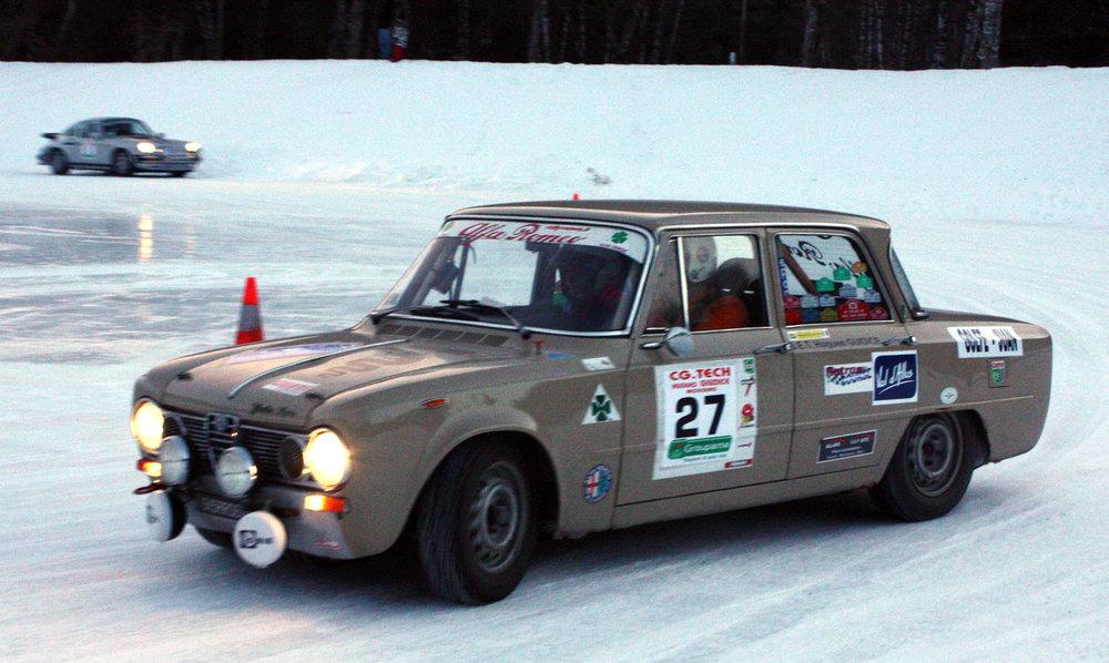 12e Rallye Hivernal Classic - Val d'Allos - Samedi 10 janvier 2015 - ©Office de Tourisme du Val d'Allos