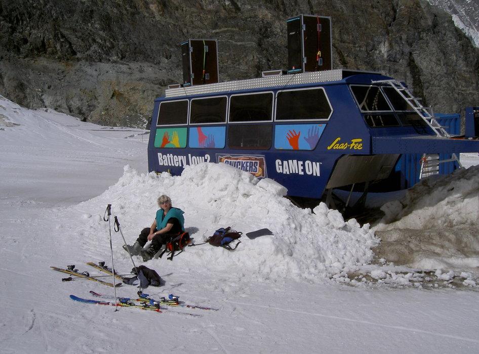 Saas Fee Glacier 2003  - ©snowbandit @ Skiinfo Lounge
