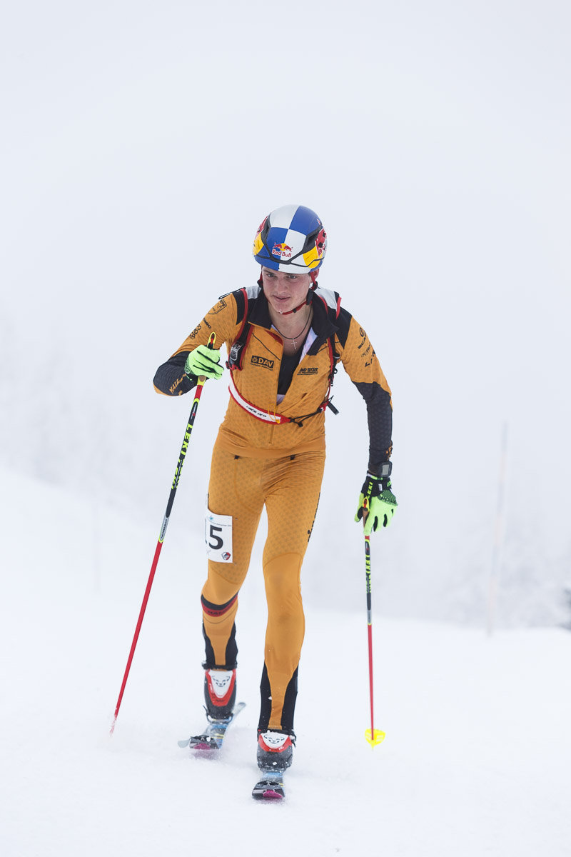 Deutscher Meister im Vertical Race: Toni Palzer - © DAV / Marco Kost
