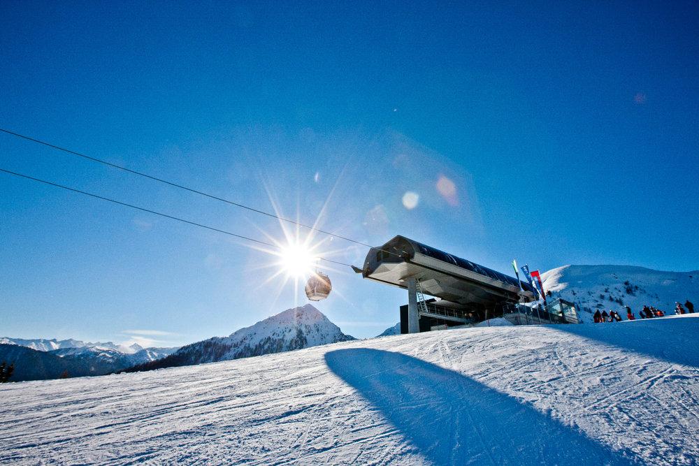 Bergstation Preunegg Jet - ©  © Reiteralm Bergbahnen