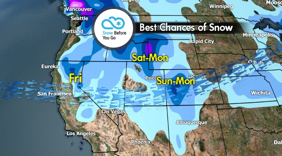 Snow Before You Go: Early Christmas Out West - © Meteorologist Chris Tomer