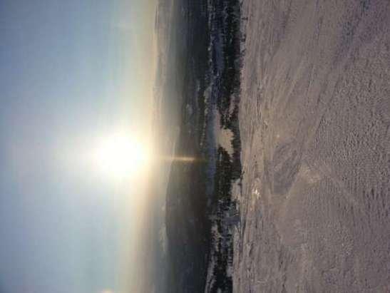 mye løs snø(10-15cm) oppe på preparet løype så samler seg i hauger overalt som gjør det veldig slitsom å stå.  Skulle ikke tro det var preparater de siste 36 timene