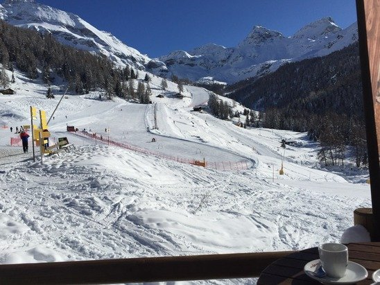 Stunning day , perfect skiing