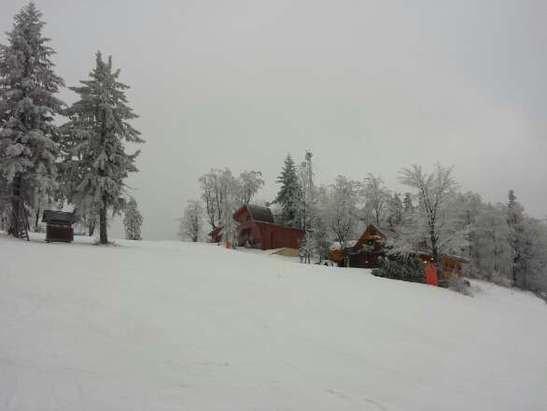 Ładnie tutaj jest i można pojeździć na nartach.